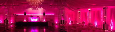 Eden Uplighting DJ Booth